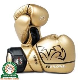 Rival RS1 Pro Sparring Gloves - Gold 2.0