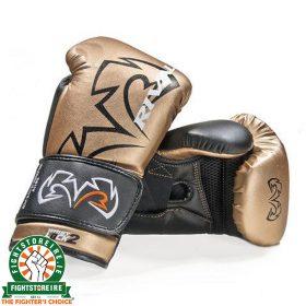Rival RS11V Evolution Sparring Gloves Gold   Fightstore Ireland