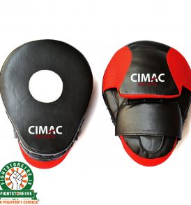 CIMAC Curved Focus Mitts - Black/Red