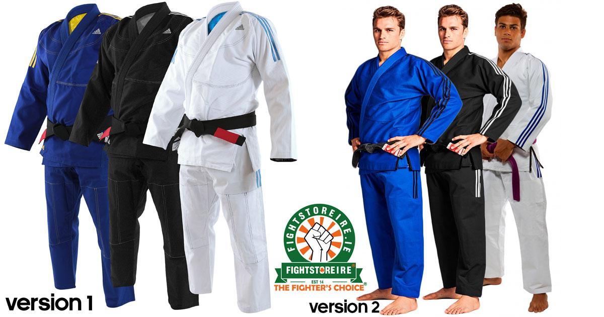 FREE Adidas Carry Bag Adidas BJJ Brazilian Jiu Jitsu Contest BLACK Gi Uniform