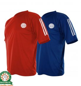 Adidas WAKO Kickboxing Tops - Red and Blue
