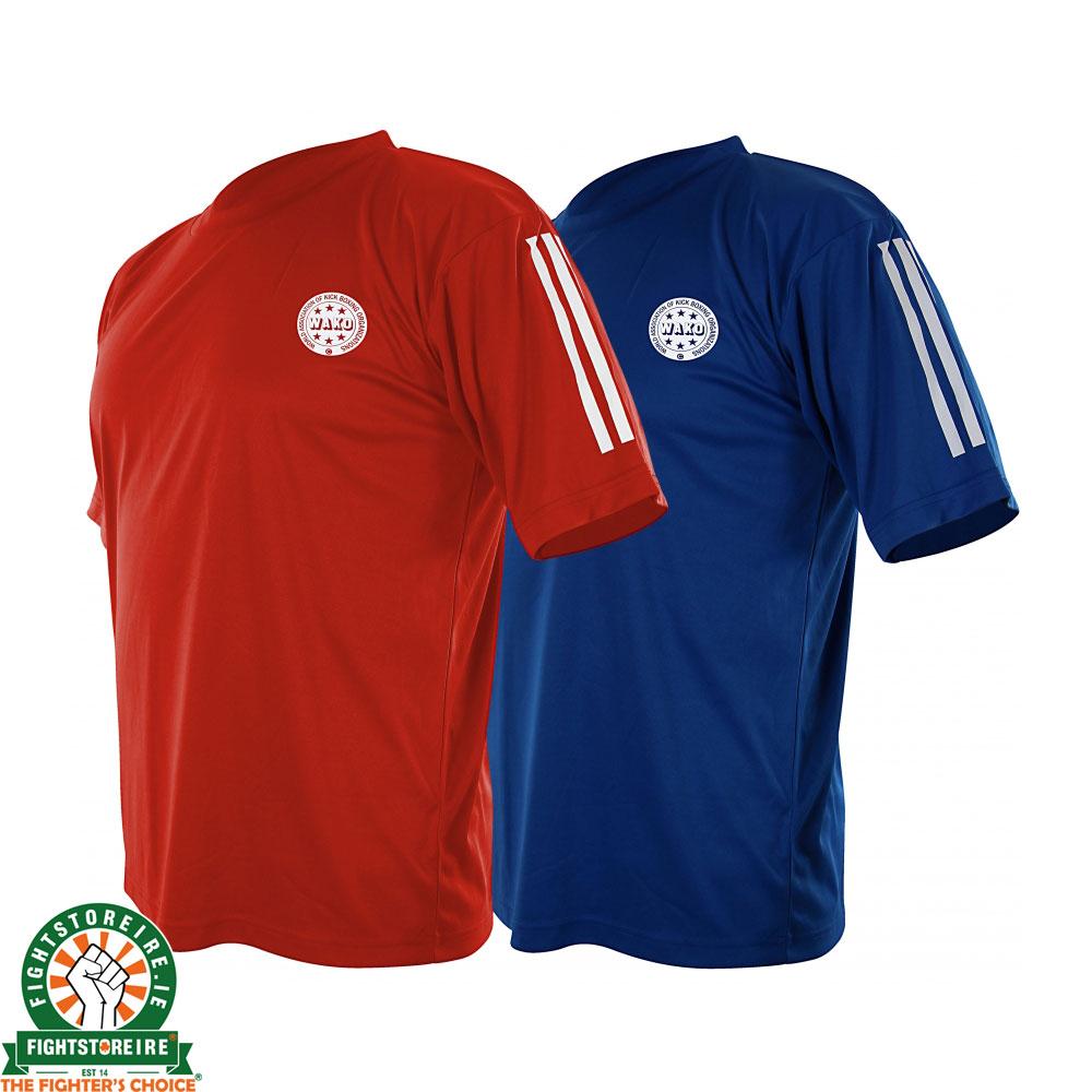 Wako Ireland Kickboxing BlueFight And Adidas Tops Red Store IbgfyYv76m