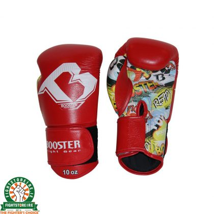 Booster PRO Comic Series Boxing Gloves - Red