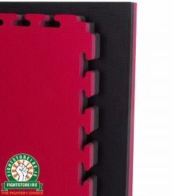 Reversible Premium 40mm Jigsaw Mats - Red/Black