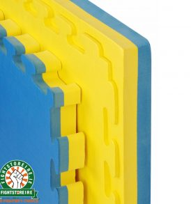 Reversible Premium 40mm Jigsaw Mats - Blue/Yellow