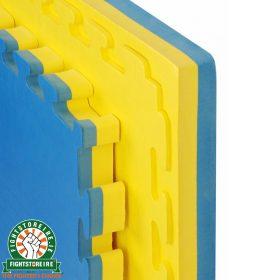 Reversible Premium 40mm Jigsaw Mats - Blue/Yellow