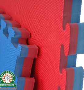 Reversible Premium 40mm Jigsaw Mats - Red/Blue