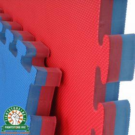 Reversible Premium 40mm Jigsaw Mats - Red/Blue