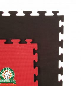 Reversible Premium Multi Purpose 20mm Jigsaw Mats - Red/Black | FSi