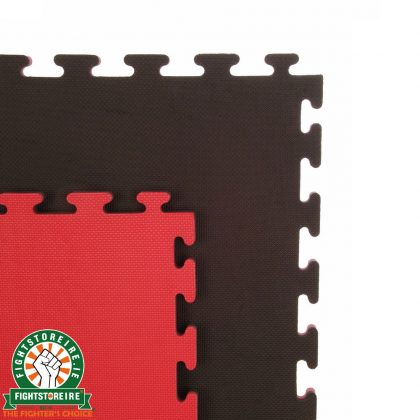 Reversible Premium Multi Purpose 20mm Jigsaw Mats - Red/Black | FSi