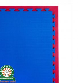Reversible Premium Tatami 20mm Jigsaw Mats - Red/Blue
