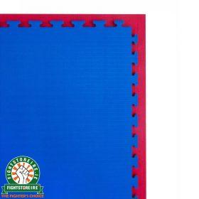 Reversible Premium Tatami 20mm Jigsaw Mats - Red/Blue
