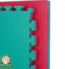 Reversible Tatami 40mm Jigsaw Mats - Red/Green