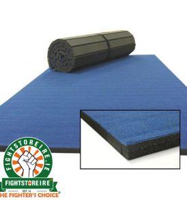 Rollaway Martial Arts Mat Carpet Top - Blue