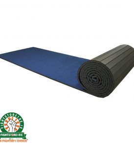 Rollaway Martial Arts Mat Vinyl Top - Blue