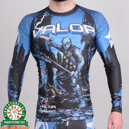 Valor Assassin Artwork Rashguard - Blue