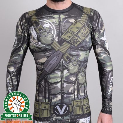 Valor Assassin Camo Rashguard
