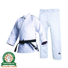 Adidas Contest Judo Uniform - White 690g