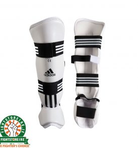 Adidas Shin and Instep Protectors - White
