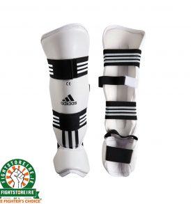 Adidas Shin and Instep Protectors - White