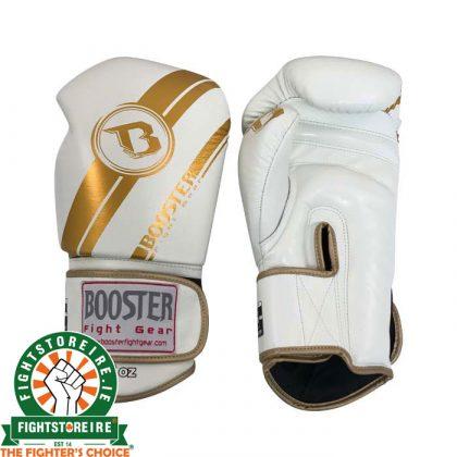 Booster V3 Thai Boxing Gloves - White/Gold