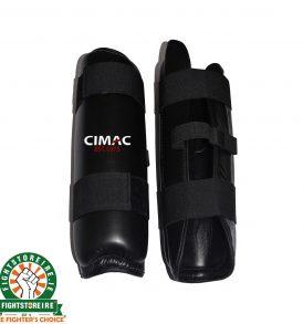 Cimac PU Shin Pads - Black