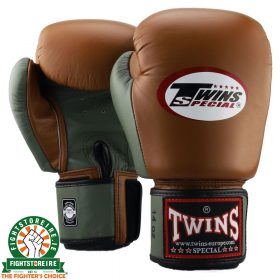 Twins Special BGVL 3 Thai Boxing Gloves - Military