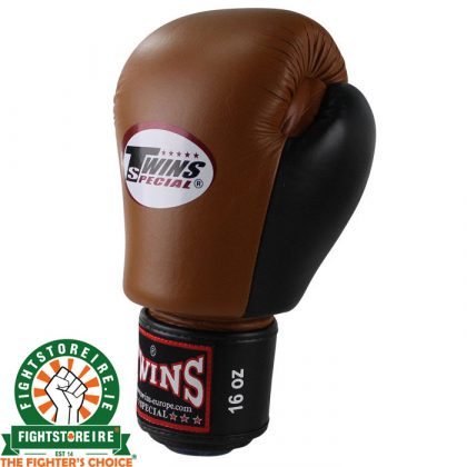 Twins Special BGVL 3 Thai Boxing Gloves Retro Brown/Black
