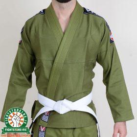 Valor Bravura BJJ Gi Green with Free White Belt