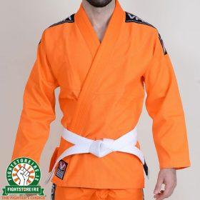 Valor Bravura BJJ Gi Orange with Free White Belt
