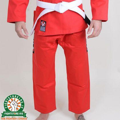 Valor Bravura BJJ Gi Red with Free White Belt