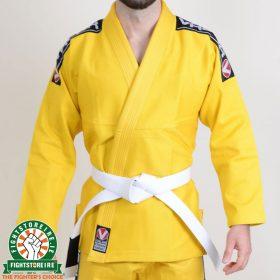 Valor Bravura BJJ Gi Yellow with Free White Belt
