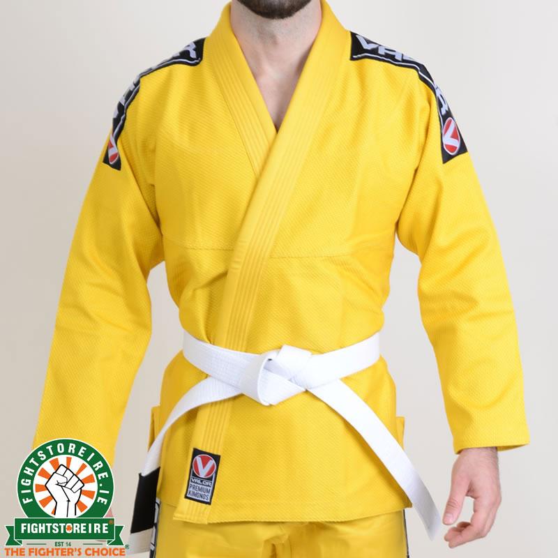 Valor Bravura BJJ Gi Yellow with Free White Belt | Fight