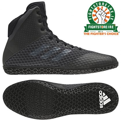 Adidas Mat Wizard 4 Wrestling Boots - Black