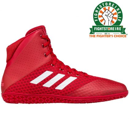 Adidas Mat Wizard 4 Wrestling Boots - Red