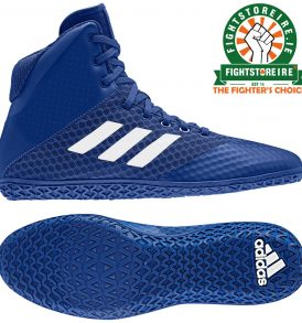 Adidas Mat Wizard 4 Wrestling Boots - Royal Blue
