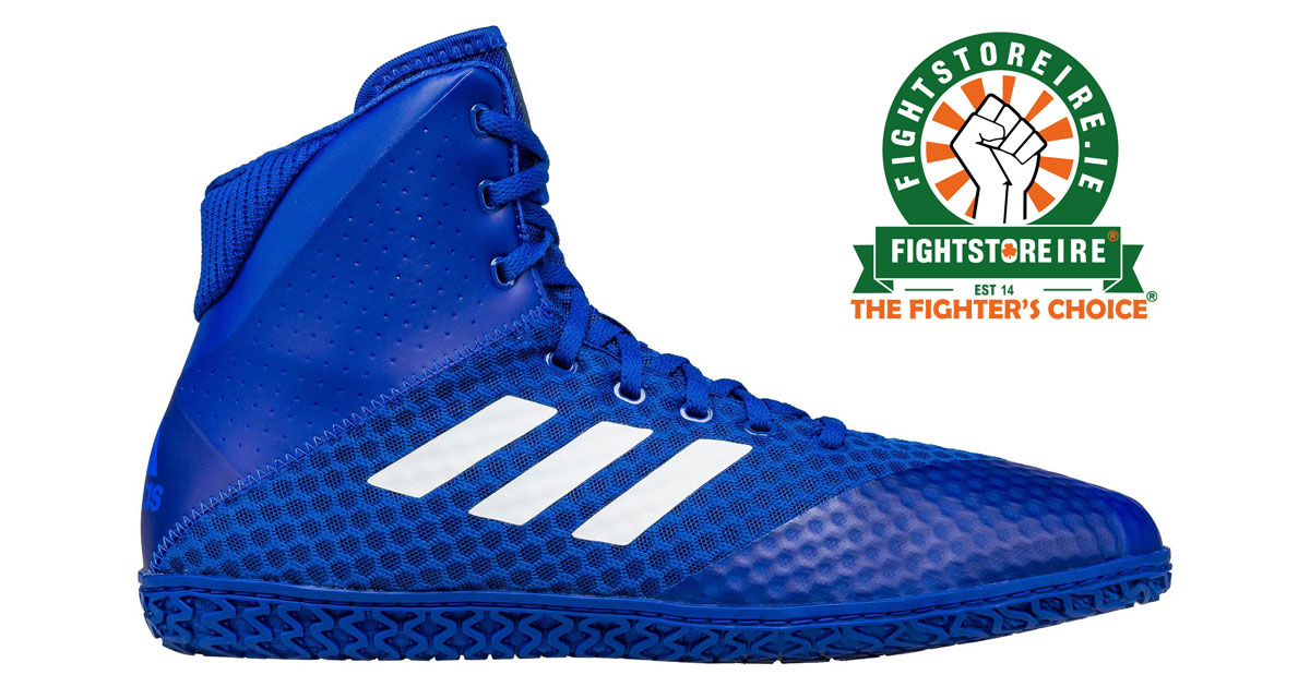 aae94d64a24864 Adidas Mat Wizard 4 Wrestling Boots - Royal Blue - Fight Store IRELAND