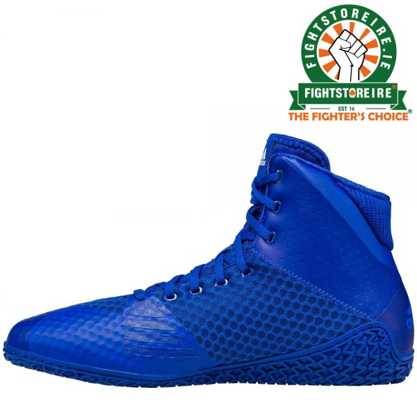 Adidas Mat Wizard 4 Wrestling Boots Royal Blue Fight