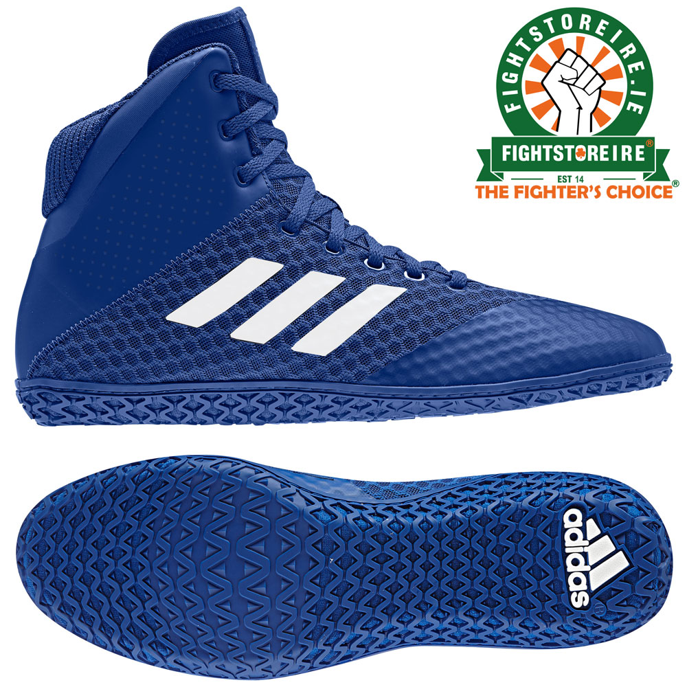 Adidas Mat Wizard 4 Wrestling Boots - Royal Blue - Fight Store IRELAND 1a06f15c8