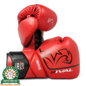 Rival RS1 Pro Sparring Gloves - Red 2.0