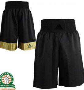 Adidas Diamond Flex Boxing Shorts in Black