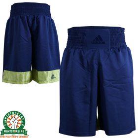 Adidas Diamond Flex Boxing Shorts in Blue