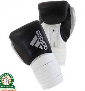 Adidas Hybrid 300X Boxing Gloves - Black/White