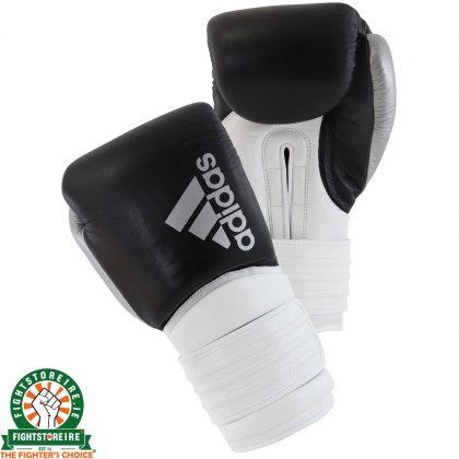Adidas Hybrid 300X Boxing Gloves - Black/White