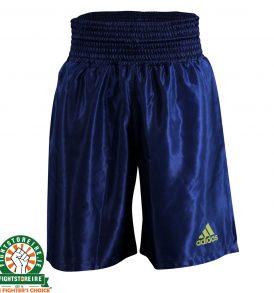 Adidas Satin Boxing Shorts in Blue