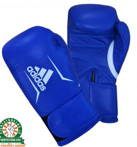 Adidas Speed 175 Boxing Gloves - Blue