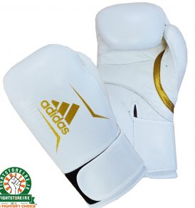 Adidas Speed 175 Boxing Gloves - White