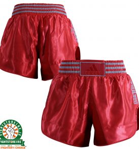 Adidas Thai Boxing Shorts New Shorter Style - Red