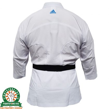 Adidas WKF Adi-light Kumite Karate Uniform - 4.5oz - Blue