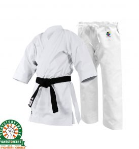 Adidas WKF Yawara Premium Karate Uniform - 12oz - Japanese Cut